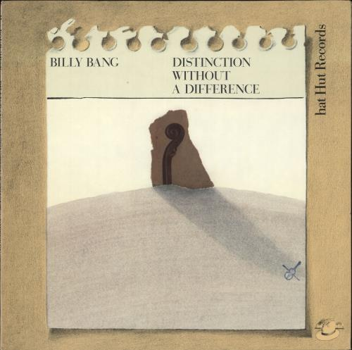 BILLY BANG - Distinction Without A Difference - Maxi 33T