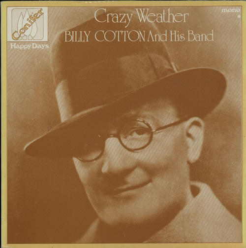 COTTON, BILLY - Crazy Weather - 12 inch 33 rpm