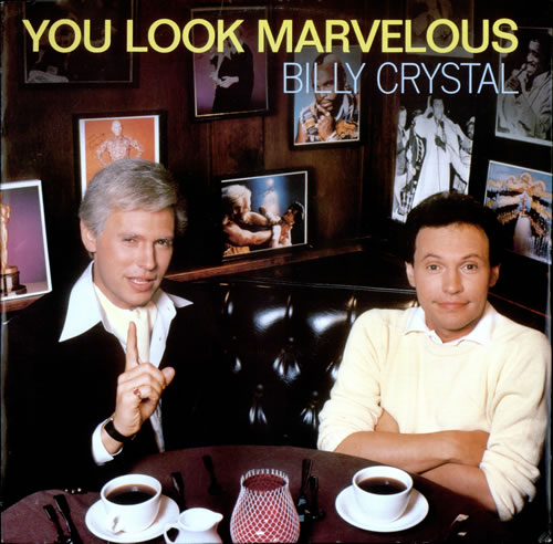 CRYSTAL, BILLY - You Look Marvelous - 12 inch 33 rpm