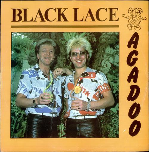 BLACK LACE (UK) - Agadoo - Maxi 33T