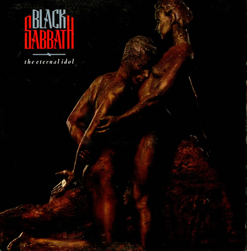 Black Sabbath The Eternal Idol Gold Promo Stamped Uk