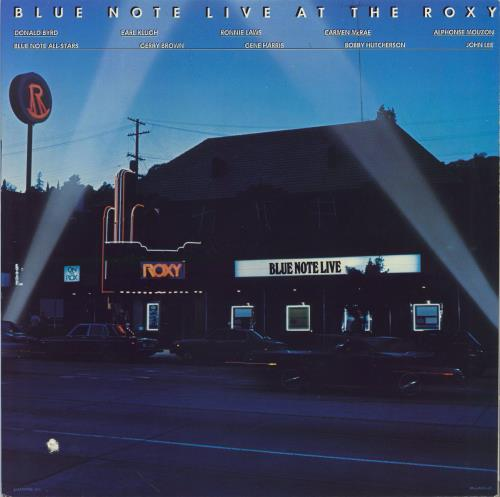 BLUE NOTE - Blue Note Live At The Roxy - 12 inch 33 rpm