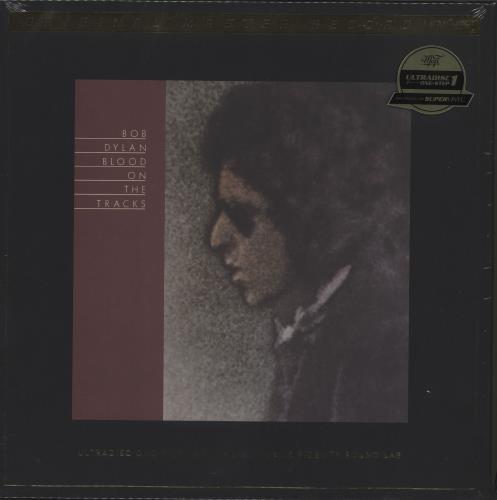 dylan, bob blood on the tracks - 180gm vinyl - sealed & numbered box