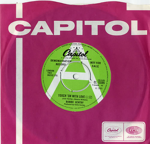 Bobbie Gentry Touch 'Em With Love - A Label UK Promo 7 ...