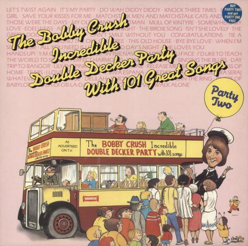 CRUSH, BOBBY - Incredible Double Decker Party With 101 Great Songs - Maxi 33T