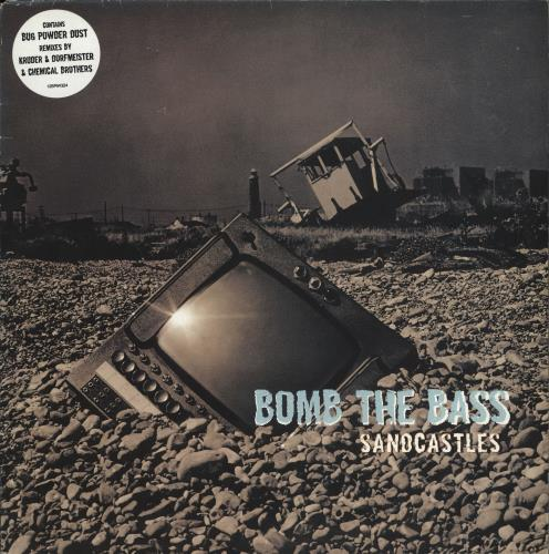 BOMB THE BASS - Sandcastles - 12 inch 33 rpm