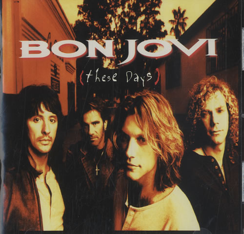 Page 2 Bon Jovi These Days Vinyl Records Lp Cd