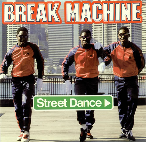 break machine street dance + sleeve