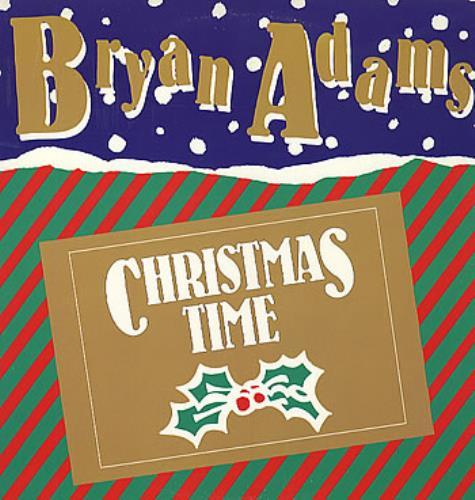 Bryan Adams Christmas Time Usa Promo 12 Quot Vinyl Record Maxi