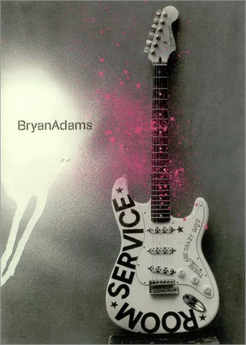 Bryan Adams Room Service Japanese Promo Book PROMO BOOKLET Room ...