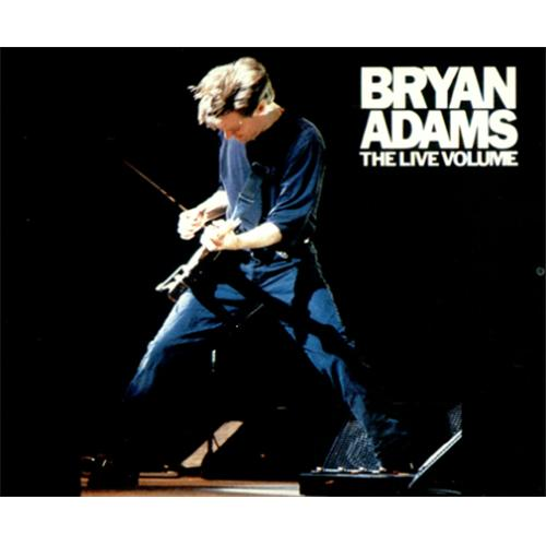 bryan adams the live volume japanese 5 cd single pocm 9002 the live volume bryan adams 140283. Black Bedroom Furniture Sets. Home Design Ideas