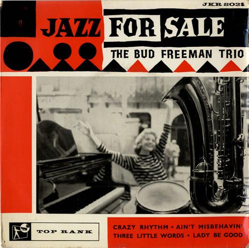 FREEMAN, BUD - Jazz For Sale - 7inch x 1