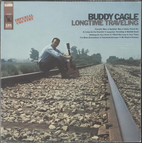 CAGLE, BUDDY - Longtime Traveling - 12 inch 33 rpm
