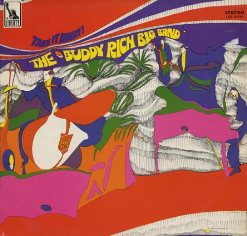 RICH, BUDDY - Take It Away - 12 inch 33 rpm