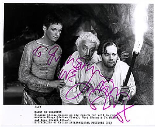 CARRY ON - Carry On Columbus - Autographed - Others