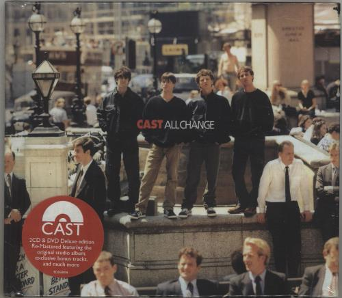 Cast All Change + DVD - Sealed