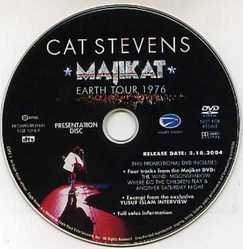 STEVENS, CAT - Majikat - Earth Tour 1976 - DVD