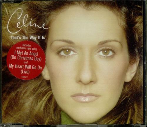 "Celine Dion That's The Way It Is UK 5"" Cd Single 6684625 That's The Way It Is Celine Dion ..."
