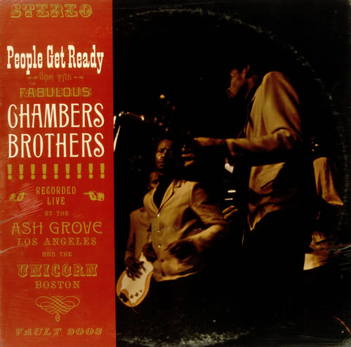 The Chambers Brothers People Get Ready Sealed Usa Vinyl