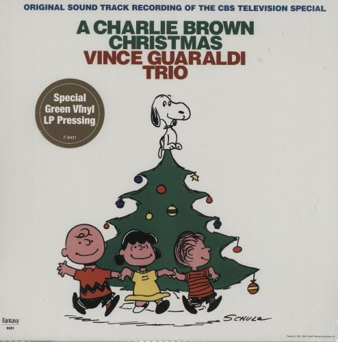 BROWN, CHARLIE - A Charlie Brown Christmas - Green Vinyl - Maxi 33T