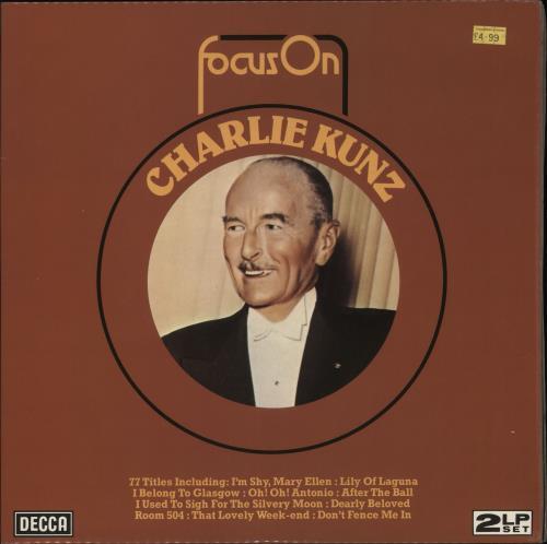 KUNZ, CHARLIE - Focus On - 12 inch 33 rpm
