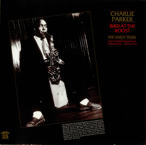 PARKER, CHARLIE - Bird At The Roost - Volume Two - 12 inch 33 rpm