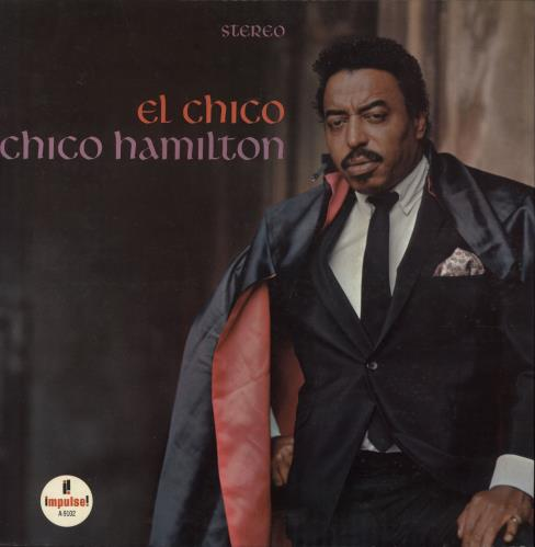 HAMILTON, CHICO - El Chico - red rim label - 12 inch 33 rpm