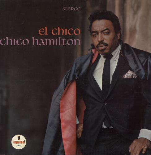 HAMILTON, CHICO - El Chico - red rim label - Maxi 33T