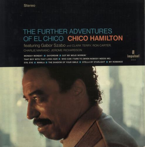 HAMILTON, CHICO - Further Adventures Of El Chico - 1st - 12 inch 33 rpm