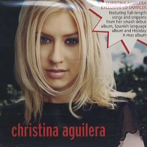 christina aguilera first album cover
