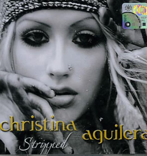 Christina Aguilera Stripped Malaysia Cd Album 0786368037 2