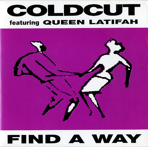 COLDCUT - Find A Way - 7inch x 1