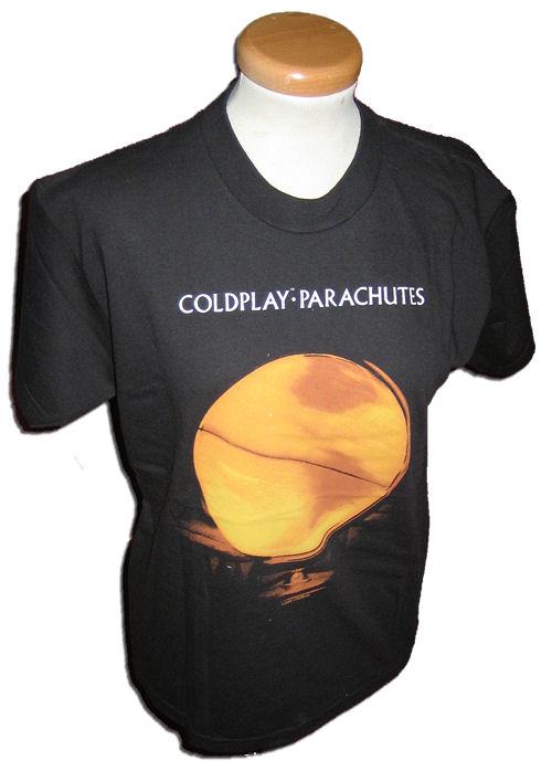 Coldplay Parachutes USA T-Shirt T-SHIRT Parachutes Coldplay 399411