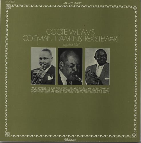 WILLIAMS, COOTIE - Together 1957 - 12 inch 33 rpm