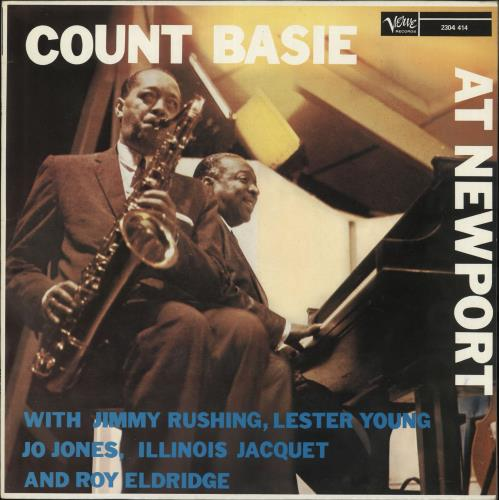 BASIE, COUNT - At Newport - 12 inch 33 rpm