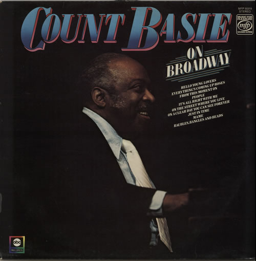 BASIE, COUNT - On Broadway - 12 inch 33 rpm