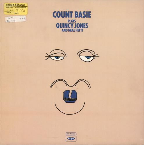 BASIE, COUNT - Plays Neal Hefti And Quincy Jones - 12 inch 33 rpm