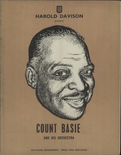 BASIE, COUNT - Souvenir Programme - Others