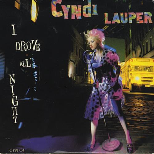 Cyndi Lauper I Drove All Night Uk 5 Quot Cd Single Cync4 I