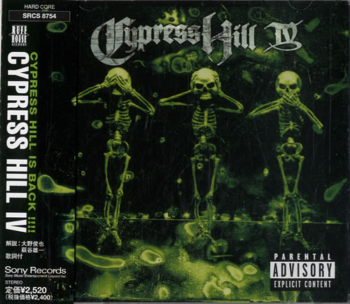 CYPRESS HILL - IV - CD