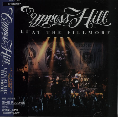 CYPRESS HILL - Live At The Fillmore - CD