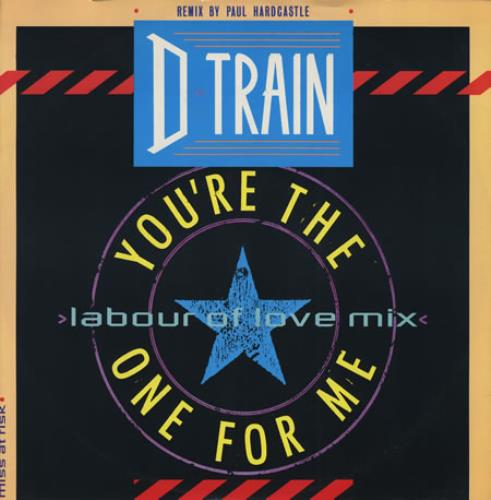 d-train you're the one for me - remix
