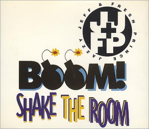 DJ JAZZY JEFF - Boom! Shake The Room - CD