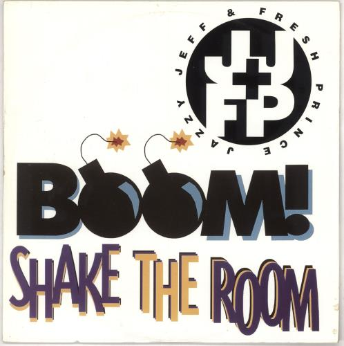 DJ JAZZY JEFF - Boom! Shake The Room - Maxi 33T