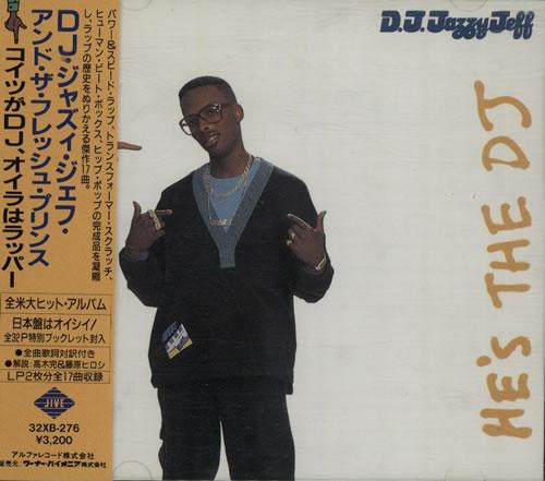 DJ JAZZY JEFF - He's The DJ, I'm The Rapper - CD