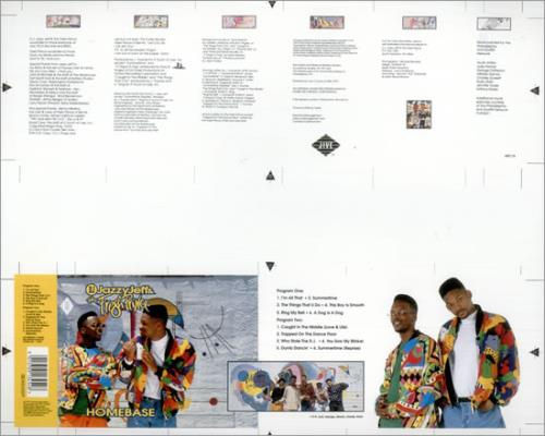 DJ JAZZY JEFF - Homebase - Poster / Display