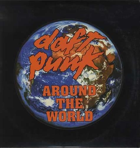 "Daft Punk Around The World USA 12"" Vinyl Record/Maxi ..."