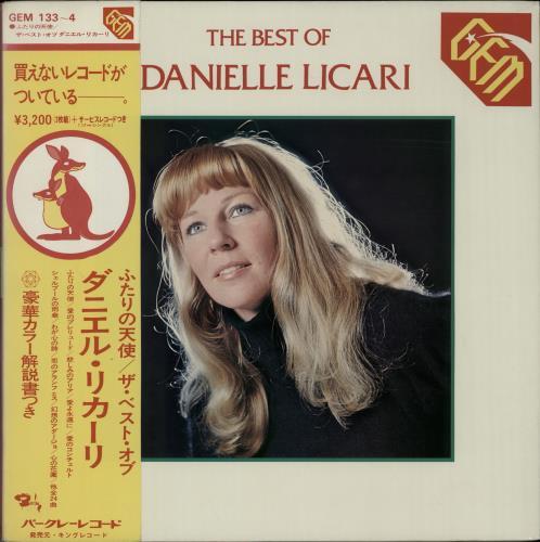 LICARI, DANIELLE - The Best Of + 7'' - 12 inch 33 rpm