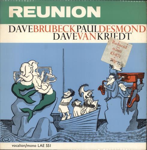 BRUBECK, DAVE - Reunion - stickered p/s - Maxi 33T