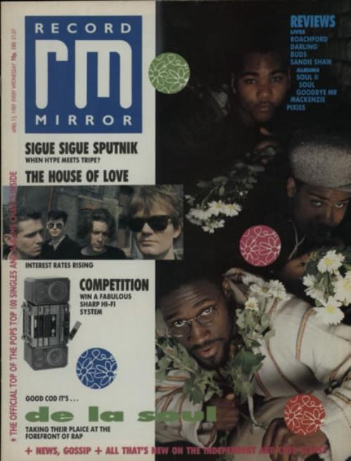DE LA SOUL - Record Mirror - Others